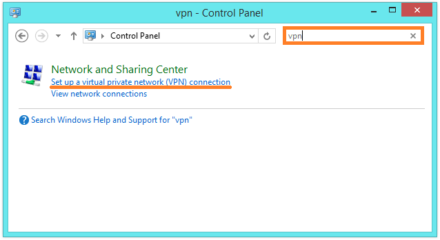 Windows 8 VPN Connection - Set up a Virtual Private Network (VPN) connection -- WindowsWally