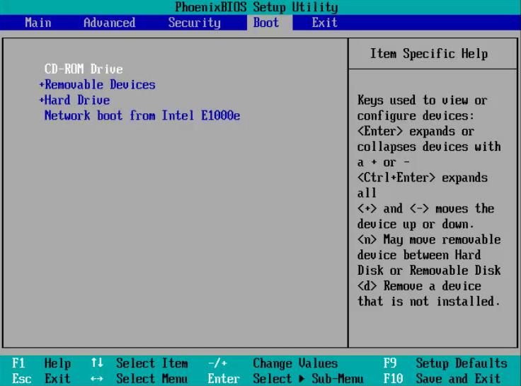 Install Windows 8 - 1-  Boot Options - WindowsWally