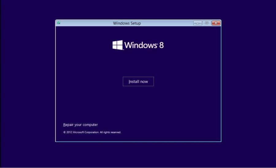 Install Windows 8 - 2 -  Pre-Install 3 - WindowsWally
