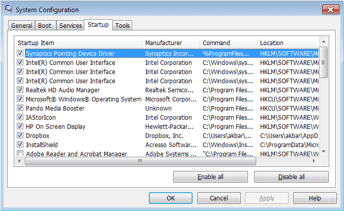 windows 10 program startup slow