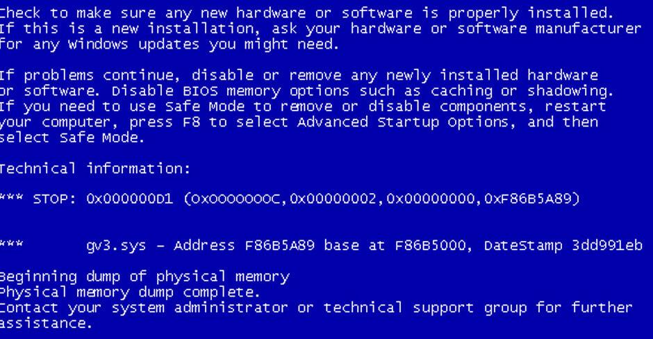 Data_Bus_Error - Cover - BSoD -- Windows Wally