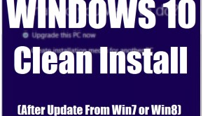 Windows 10 - Clean Install After Update - Featured -- Windows Wally