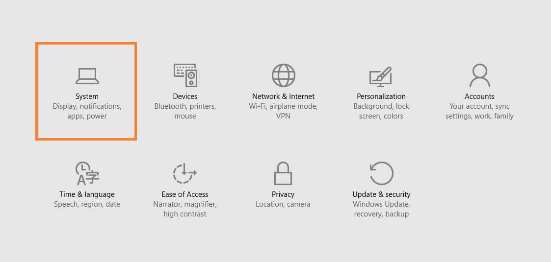 RuntimeBroker.exe - Windows 10 - All settings - System -- Windows Wally
