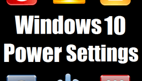 Windows 10 Power Settings - Featured -- Windows Wally