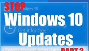 Windows 10 - Stop Windows 10 Update - Part 2 - Featured -- WIndows Wally