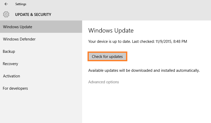 Windows 10 - Windows Updates -- Windows Wally