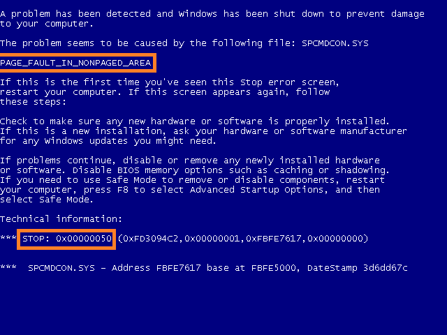 Windows blue screen - Cover - BSoD - Windows XP - WIndows Wally