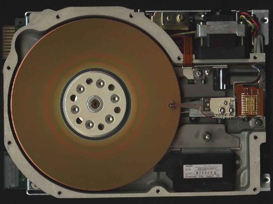 BIOHD - Winchester-Festplatte - Wikimedia - WindowsWally
