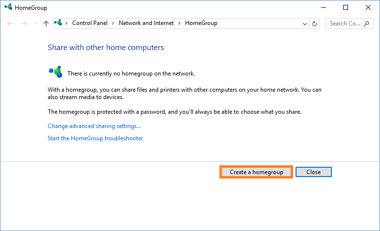Windows 10 - Sharing files between Windows 7 and 10 - HomeGroup - Windows Wally