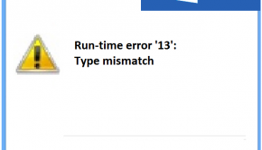 Runtime Error 13 -- Windows 10 - Featured - 2 - Windows Wally