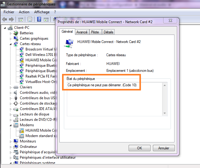 3G USB Internet Dongle Doesn't Install Properly in Windows 10