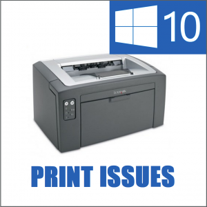 Windows 10 -- Can't Print - Featured - Windows Wally