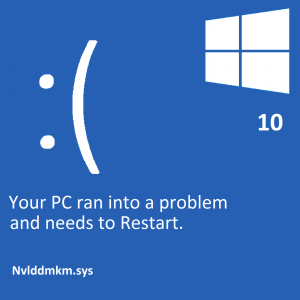 Nvlddmkm.sys -- Windows 10 - Featured - Windows Wally